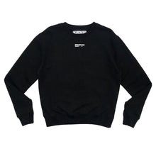 画像をギャラリービューアに読み込む, 【Off-White】MASKED FACE SLIM CREWNECK BLACK WHITE
