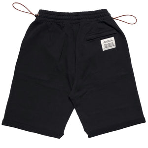 【HERON PRESTON】FLEECE SHORTS CTNMB SPRAY VER BLACK WHIT