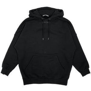 【Palm Angels】CLASSIC LOGO OVER HOODY BLACK BLACK