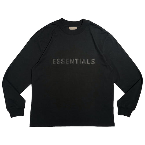 【FOG ESSENTIALS】ESSENTIALS LS TEE BLACK