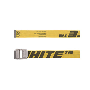 【Off-White】2.0 INDUSTRIAL BELT 40 MM YELLOW BLACK