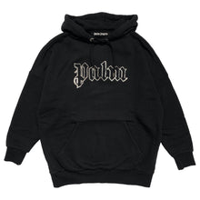 画像をギャラリービューアに読み込む, 【Palm Angels】GLOW IN THE DARK OVER HOODY BLACK METAL