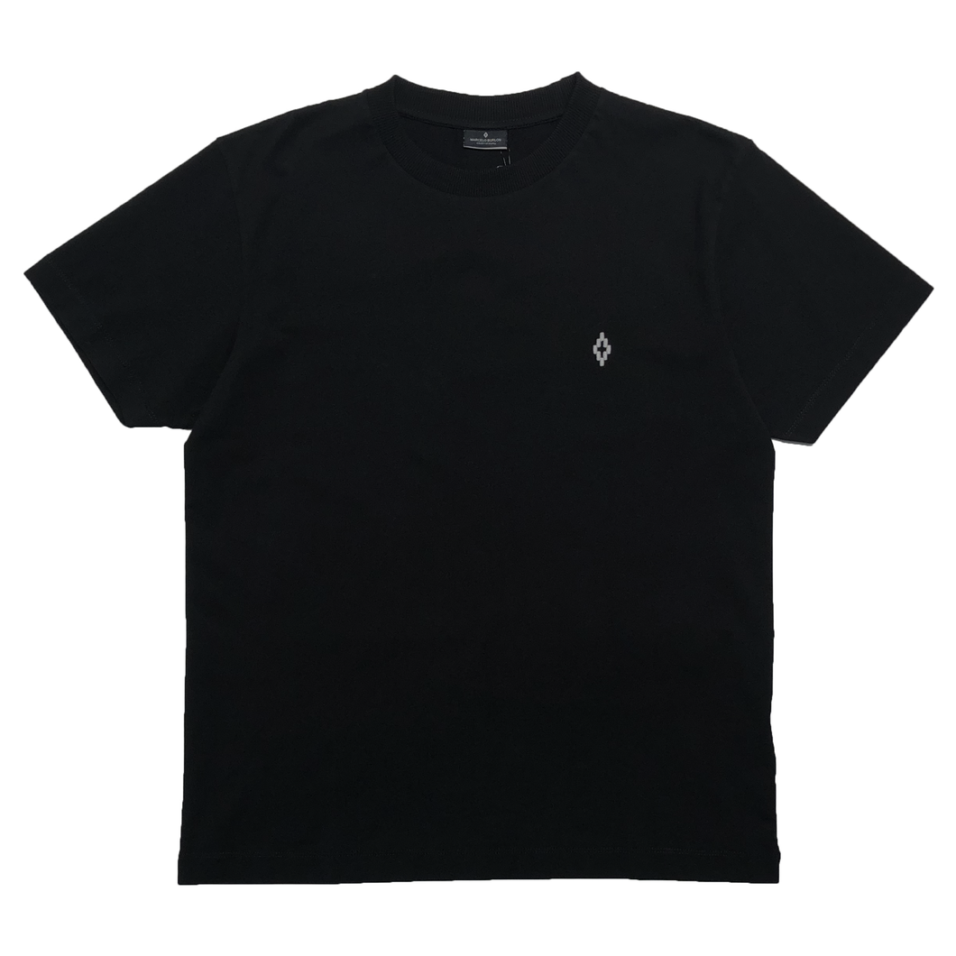 【MARCELO BURLON】LOGO T-SHIRT BLACK WHITE