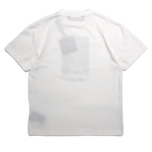 【Palm Angels】BURNING SKELETON PIC TEE WHITE MULTICOLOR
