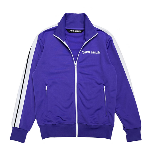 【Palm Angels】CLASSIC TRACK JKT PURPLE WHITE