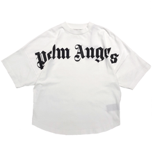 Load image into Gallery viewer, 【Palm Angels】FRONT LOGO OVER TEE OFF WHITE BLACK
