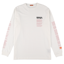 画像をギャラリービューアに読み込む, 【HERON PRESTON】NASA OVER TSHIRT LS FACTS WHITE MULTICOL