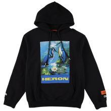画像をギャラリービューアに読み込む, 【HERON PRESTON】HOODIE PERMANENT OFF BLACK MULTICOLOR