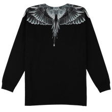 Load image into Gallery viewer, 【MARCELO BURLON】CATCH THEM WINGS T-SHIRT L/S BLACK MULTI