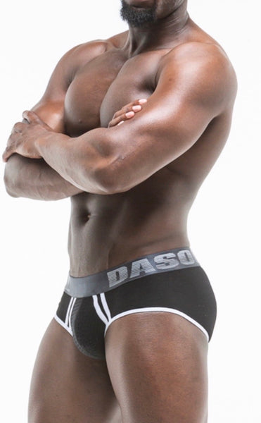EBONY SPORT MESH BRIEF