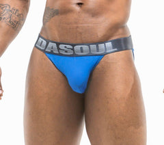 DASOUL BLUE PIN-DOT JOCK BRIEF