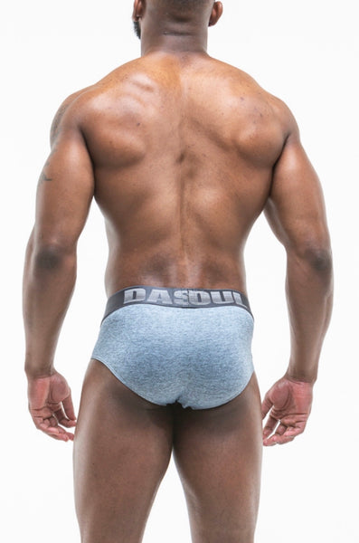 CHARCOAL SPORT MESH BRIEF