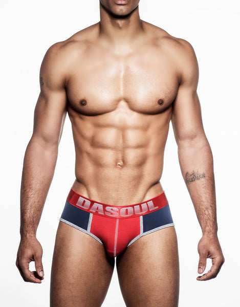 RALPHAEL MICROFIBER SPORT BRIEF (CRIMSON BAND)