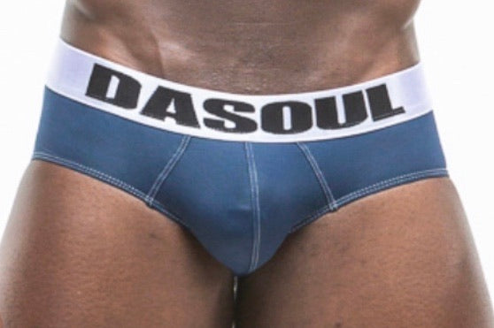 DASOUL NAVY ATHLETE BRIEF
