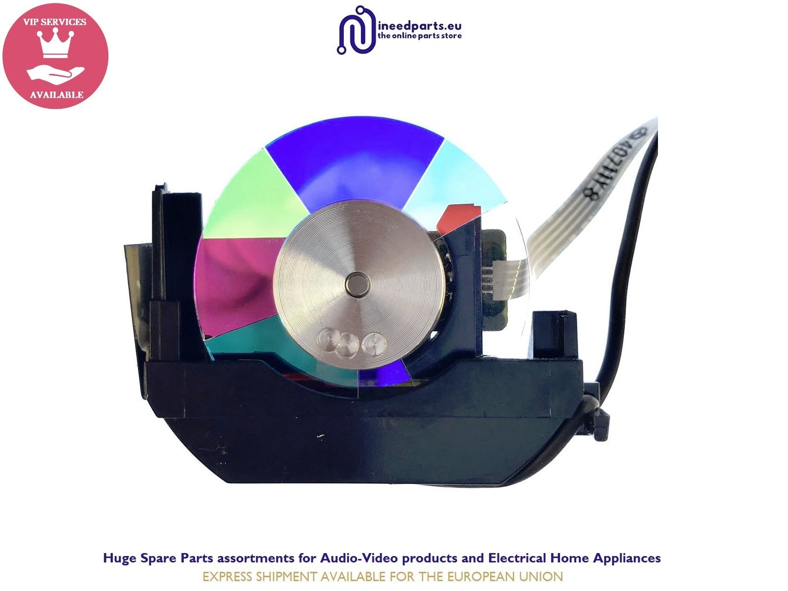 Color Wheel BMG768278 For BenQ MX618ST MS619ST MX620ST 6E.J9V05.001