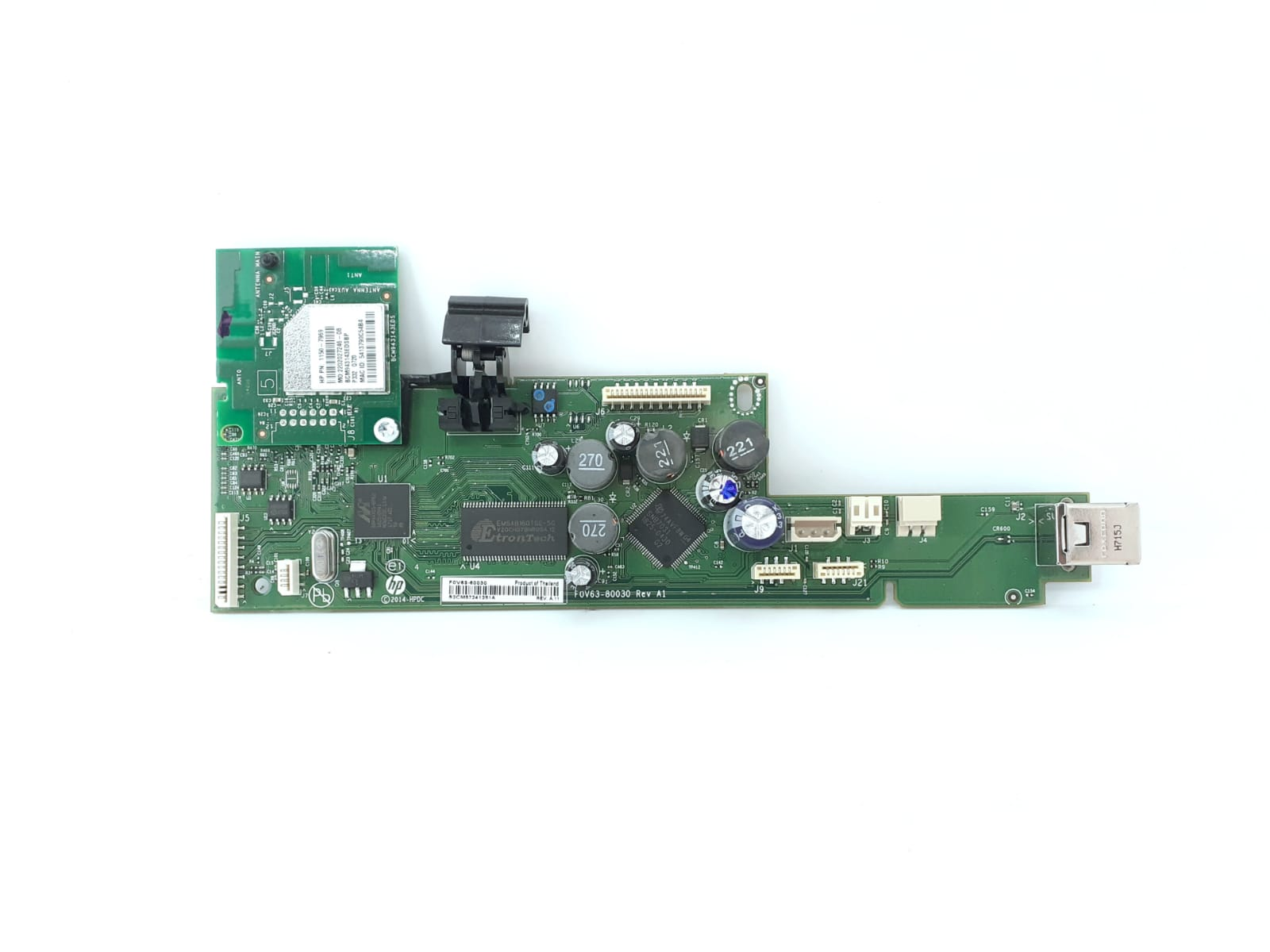 Main Logic Board M2U85-60009 and WLAN 0960-3660 Envy