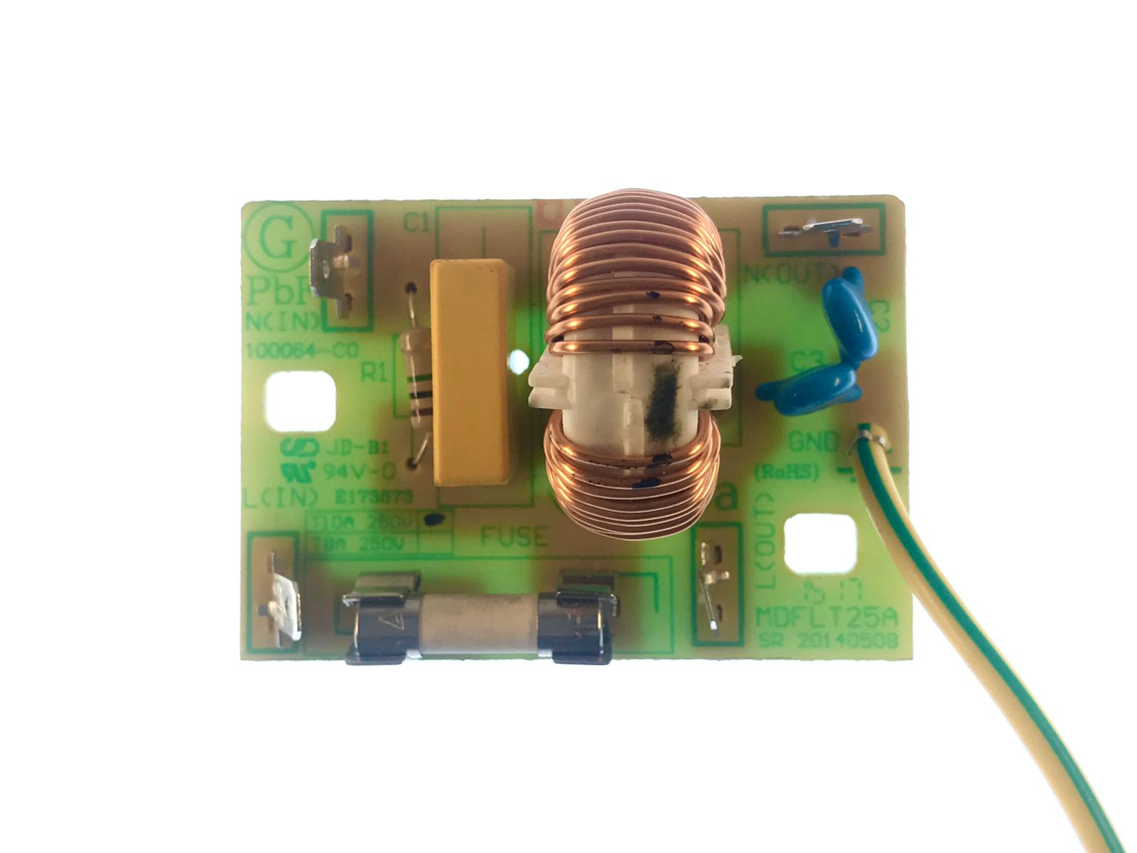 Oven Noise Filter For Sharp R28STW Microwave MDFLT25A