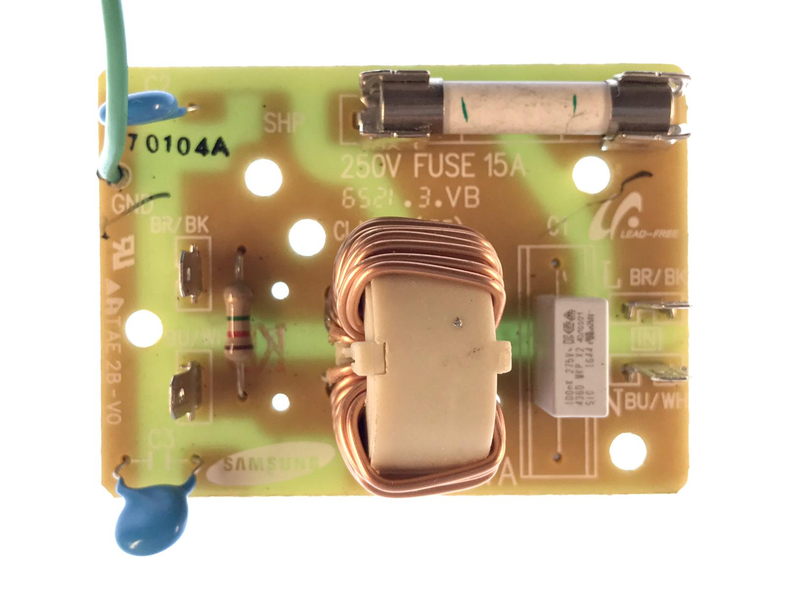 Power Board For Samsung MC28M6075CS Microwave Oven SN-UF11A