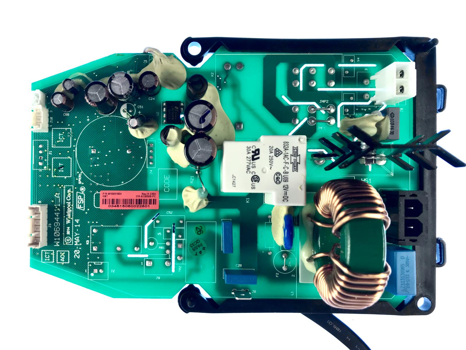 Power Board KitchenAid 5KSB5080 W10691804