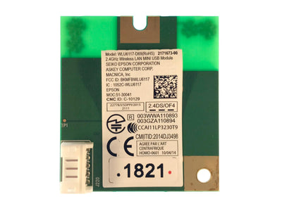 WLAN Module For Epson WF-2510 Printer 2171673-00