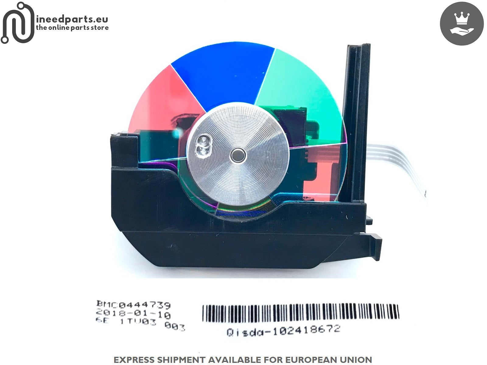 Color Wheel BMC0444739 6E.1TV03.003 102418672 BenQ W1070