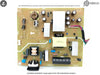 Power Board BenQ XL2540 XL2540W 4H.3DH02.A00 5E.3DH02.001