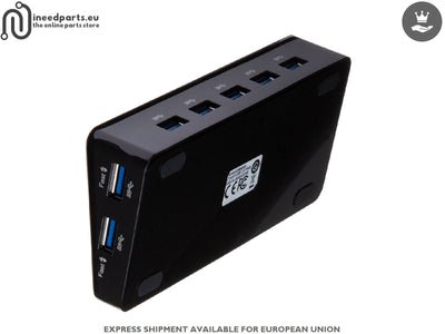 USB HUB 3.0 with 7 ports and external Power Adapter