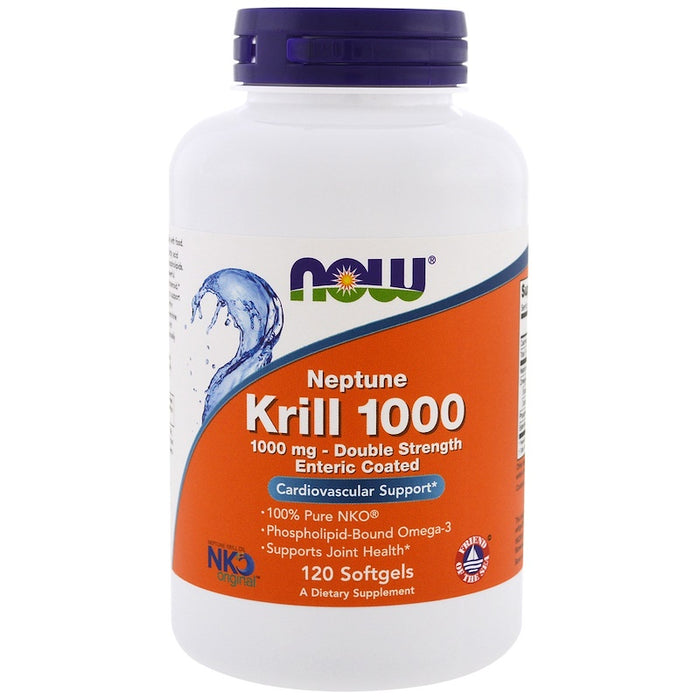 Now Foods - Neptune Krill 1000, 1000 mg, 120 Softgels