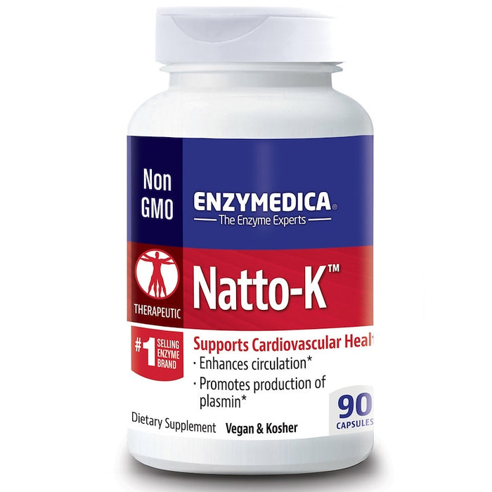 Enzymedica - Natto-K, Cardiovascular, 90 Capsules