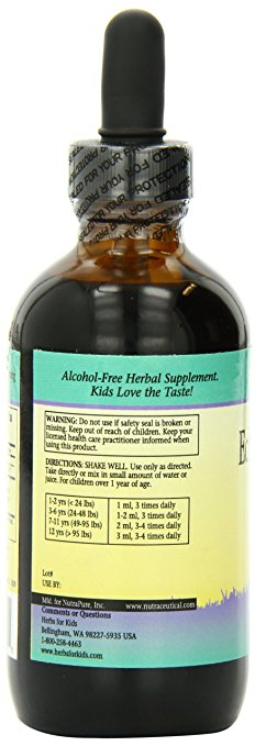 Herbs for Kids - Echinacea/Astragalus, 4 Ounce