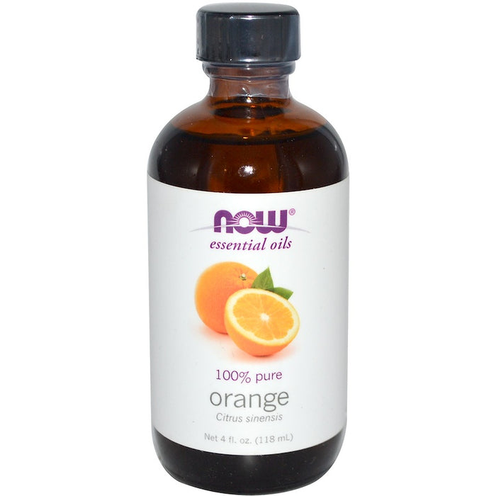 Now Foods - Essential Oils, Orange, 4 fl oz (118 ml)