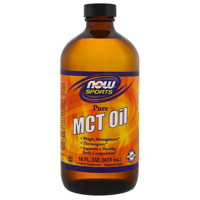Now Foods - Sports, MCT Oil, Pure, 16 fl oz (473 ml)