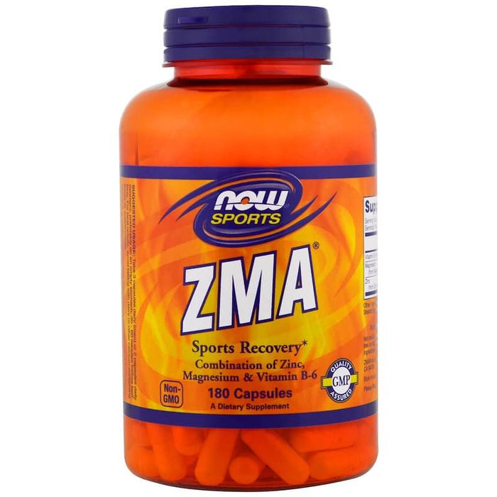 Now Foods - Sports, ZMA, Sports Recovery, 180 Capsules