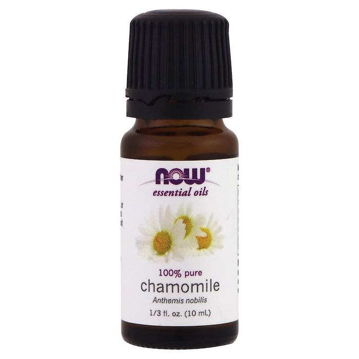 Now Foods Essential Oils, 100% pure Chamomile oil, 1/3 fl oz (10 ml)