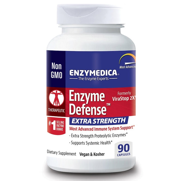 Enzymedica - Enzyme Defense, Extra Strength, 90 Capsules