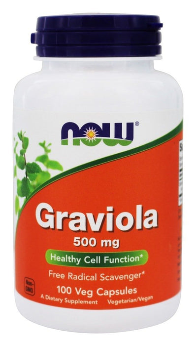 Now Foods Graviola 500 mg, 100 Capsules