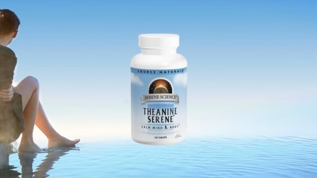 Source Naturals Theanine Serene With Relora, 60 Tablets