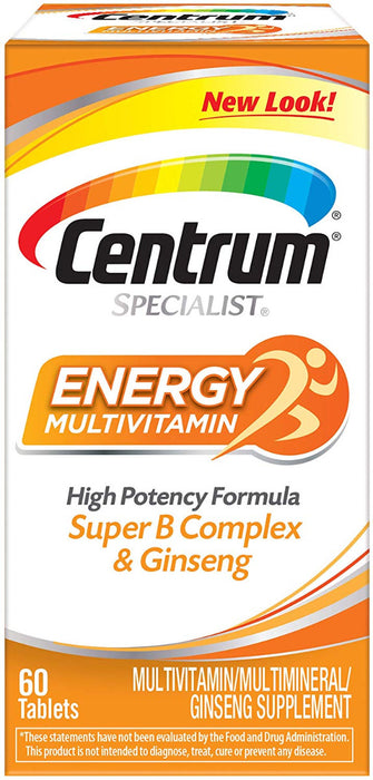 CENTRUM SPECIALIST ENERGY 60CT-Exp 06/2021