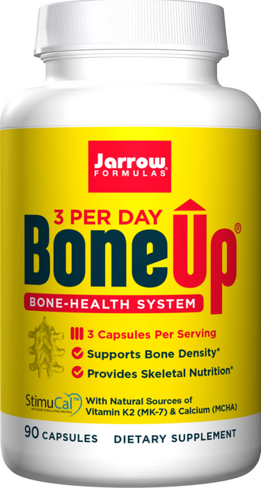 Jarrow Formulas - BoneUp® Three Per Day, Superior Skeletal Support, 90 Capsules