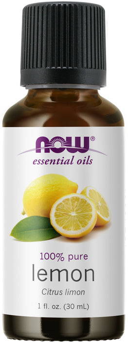 Now Foods Essential Oils, Lemon, 1 fl  oz. (30 ml)