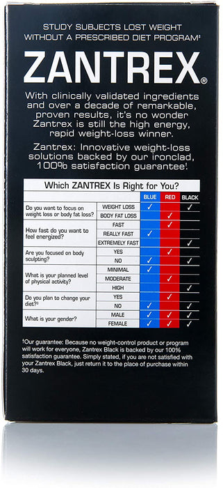 Zantrex® Black, Energy and Weight Loss Pills - 84 Softgels