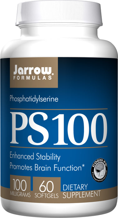 Jarrow Formulas PS100, 100 mg, 60 Softgels