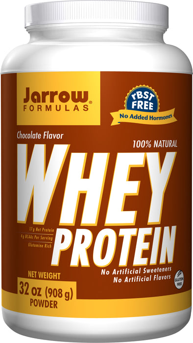 Jarrow Formulas Whey Protein Chocolate, 908 GM