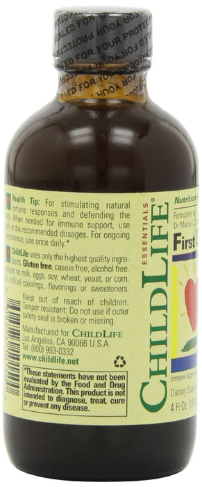 ChildLife, Essentials, First Defense, 4 fl oz (118.5 ml)
