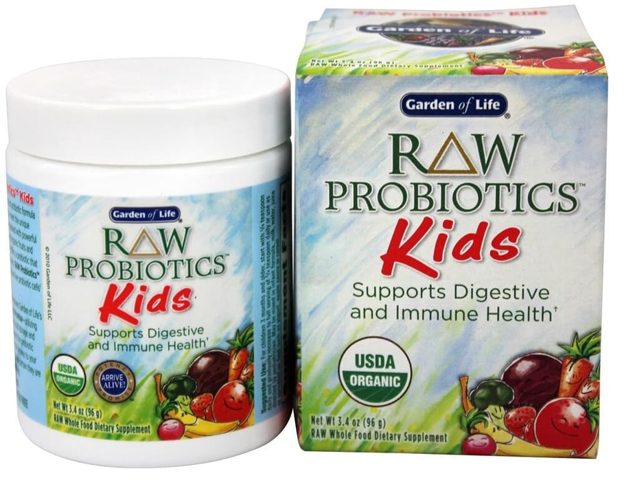 Garden of Life RAW Probiotics, Kids, 3.4 oz (96 g)