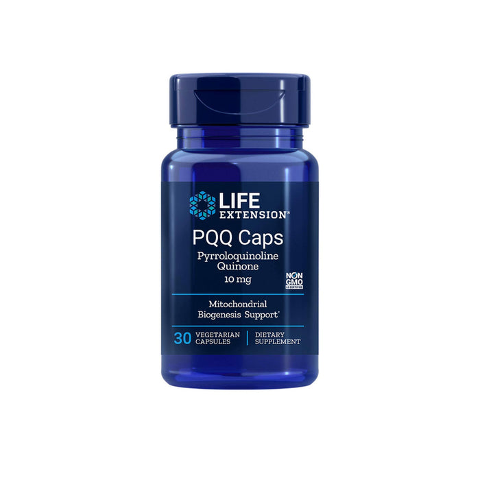 Life Extension PQQ Caps with BioPQQ, 10 mg, 30 Veg Capsules