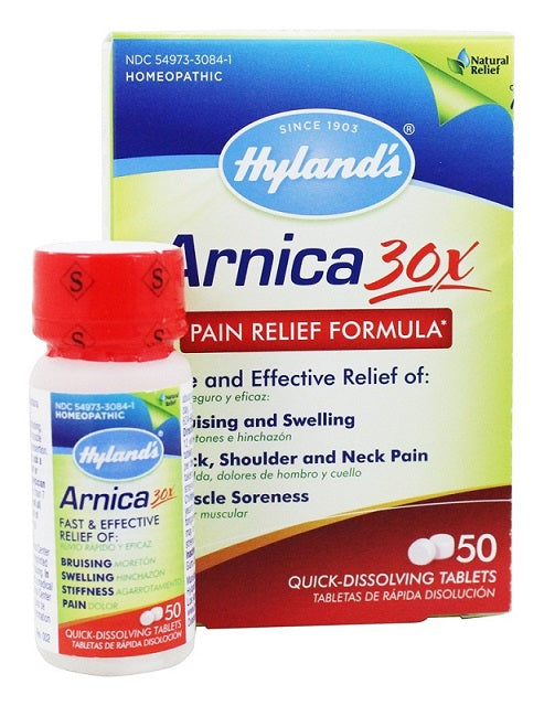 Hylands Arnica Pain Relief Formula 30 X, 50 Quick Dissolve Tablets