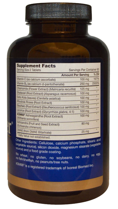 Jarrow Formulas Adrenal Optimizer, 120 Tablets