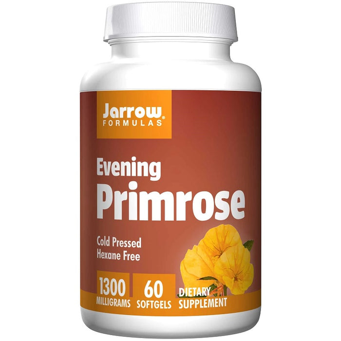 Jarrow Formulas Evening Primrose 1300 mg, 60 Softgels