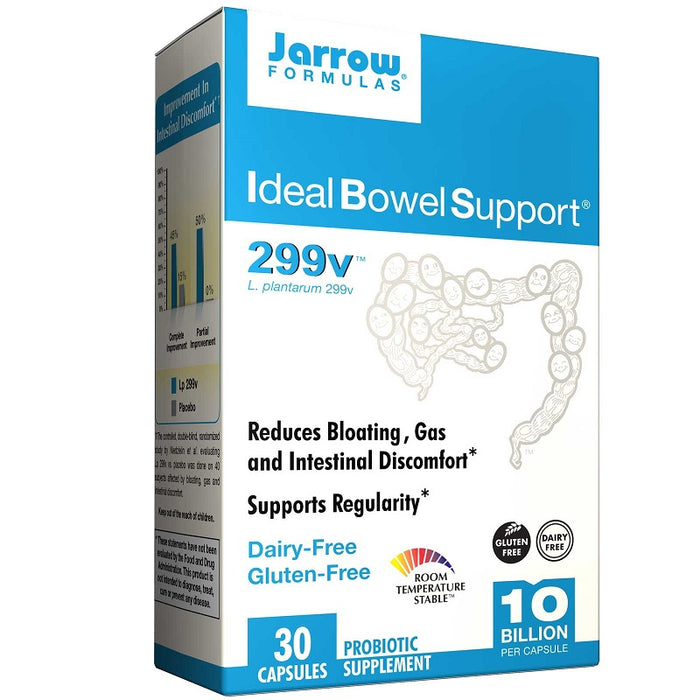 Jarrow Formulas Ideal Bowel Support, 30 Capsules